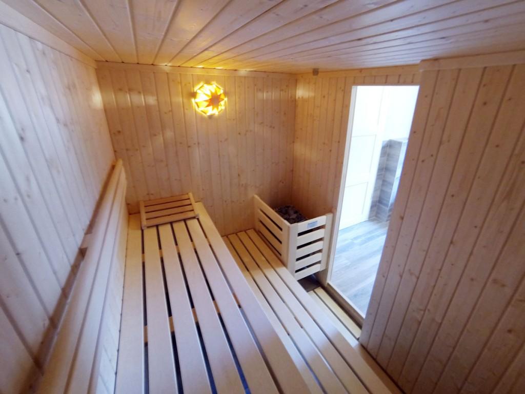 Sauna des Ferienhaus Dünenwald